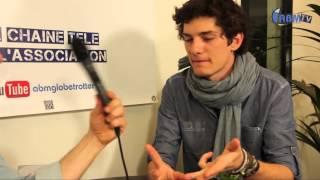 Clément Lemarchand (Polalegria), routard et polaroïde, par ABM-TV