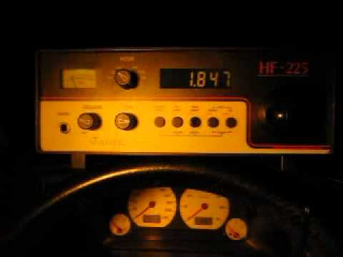 160 m Ham Radio DX: K6AAX-VY2 Prince Edward Island received in Germany