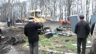 ДТП на залізничному переїзді у Миколаївці