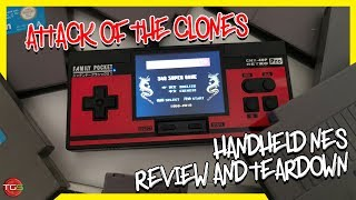 Family Pocket - NES Clone Handheld - Review & Teardown (GearBest)