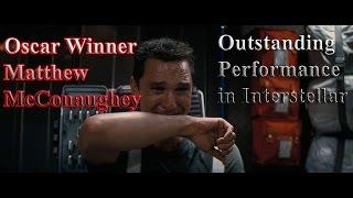 Oscar Winner McMatthew McConaughey Outstnading Performance in 'Interstellar'[Subtitled]