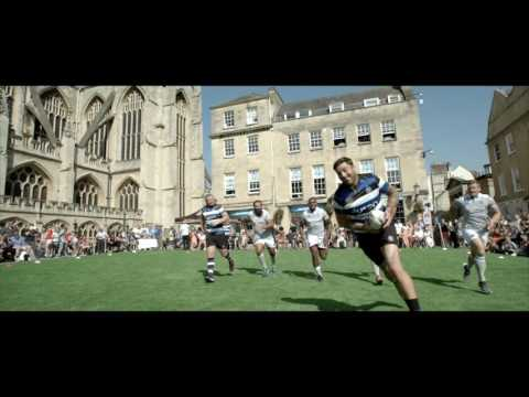 BE SOMETHING GREATER: BATH RUGBY 2016/17 SHIRT LAUNCH