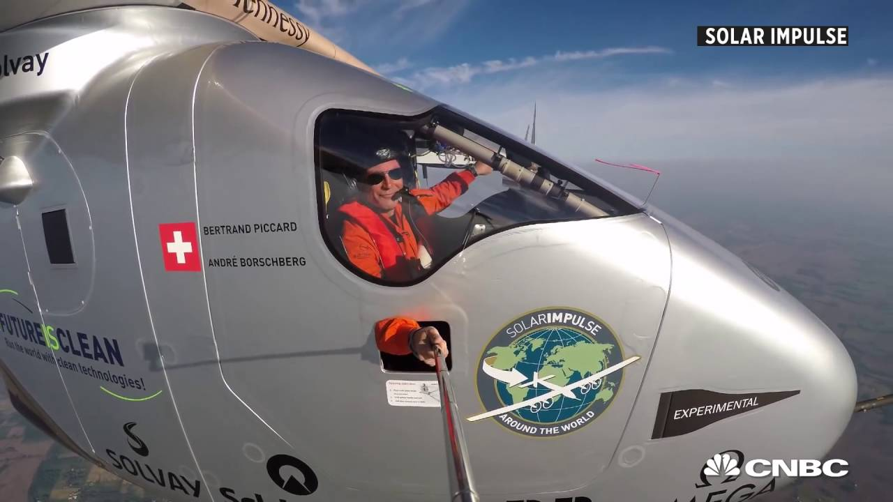 Solar Impulse completed its round-the-world journey | CNBC International