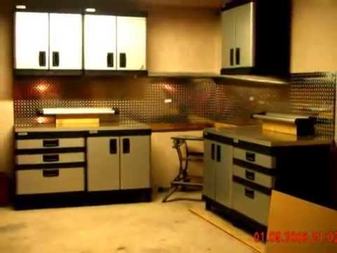 Stanley Workshop Wall Cabinet Garage Improvements Youtube