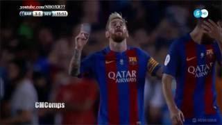 اهداف مباراة برشلونة واشبيلية 3-0 اياب كاس السوبر17-08-2016-HD