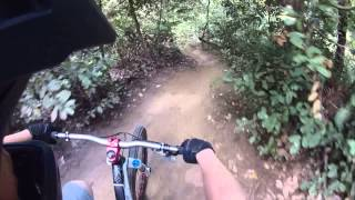 Mountain Biking On Magic Carpet In UCSC