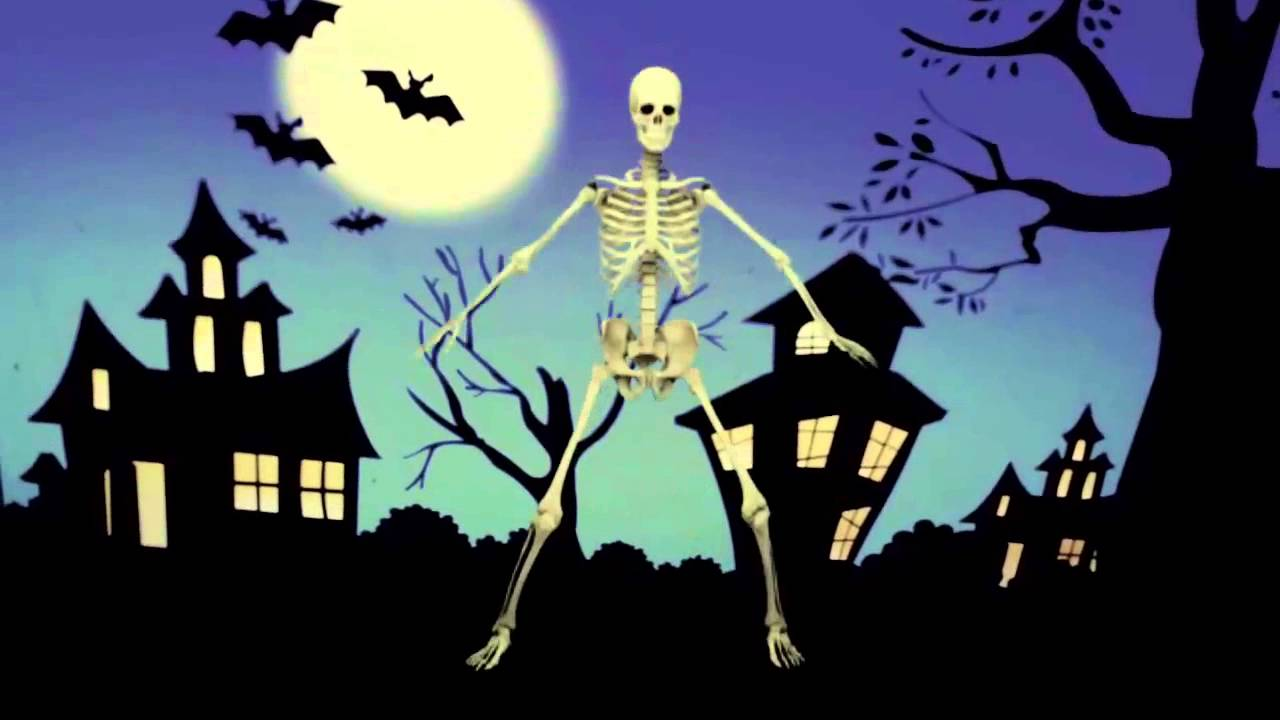 The Dancing Skeleton - Happy Halloween Everyone. - YouTube