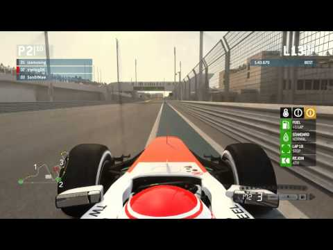 F1 2013 AOR [Race 17][Abu Dhabi][UNBELIVEBLE And Awesome RAge]