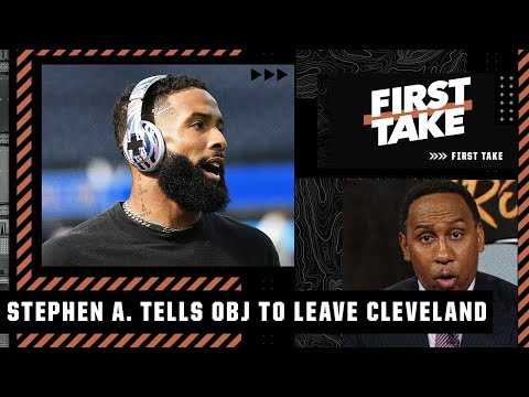 Odell Beckham must get out of Cleveland - Stephen A.'s 3 teams that should target OBJ | First Take