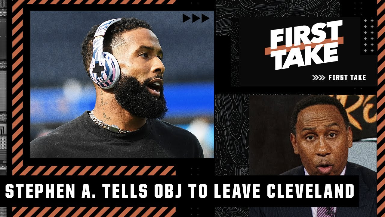 Download Odell Beckham must get out of Cleveland - Stephen A.'s 3 teams that should target OBJ   First Take