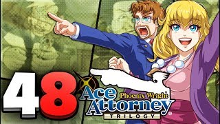Phoenix Wright Ace Attorney Trilogy HD - Part 48 Winding Way Mystery! Justice For All (Switch)