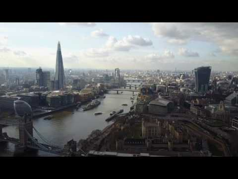 London, Tower bridge, travel ( drone mavic dji )