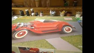 1 /16 scale 1932 Ford highboy roadster hot rod