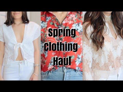 SPRING TRY ON CLOTHING HAUL  Jenna Berman