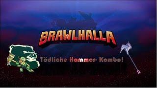 Brawlhalla tödliche Hammerkombo! [Russian Mafia Combo] German
