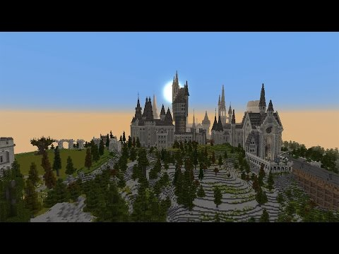 Harry Potter In Minecraft! - Minecraft Adventure Map