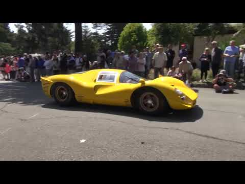 Present! - 2017 Pebble Beach Tour d' Elegance