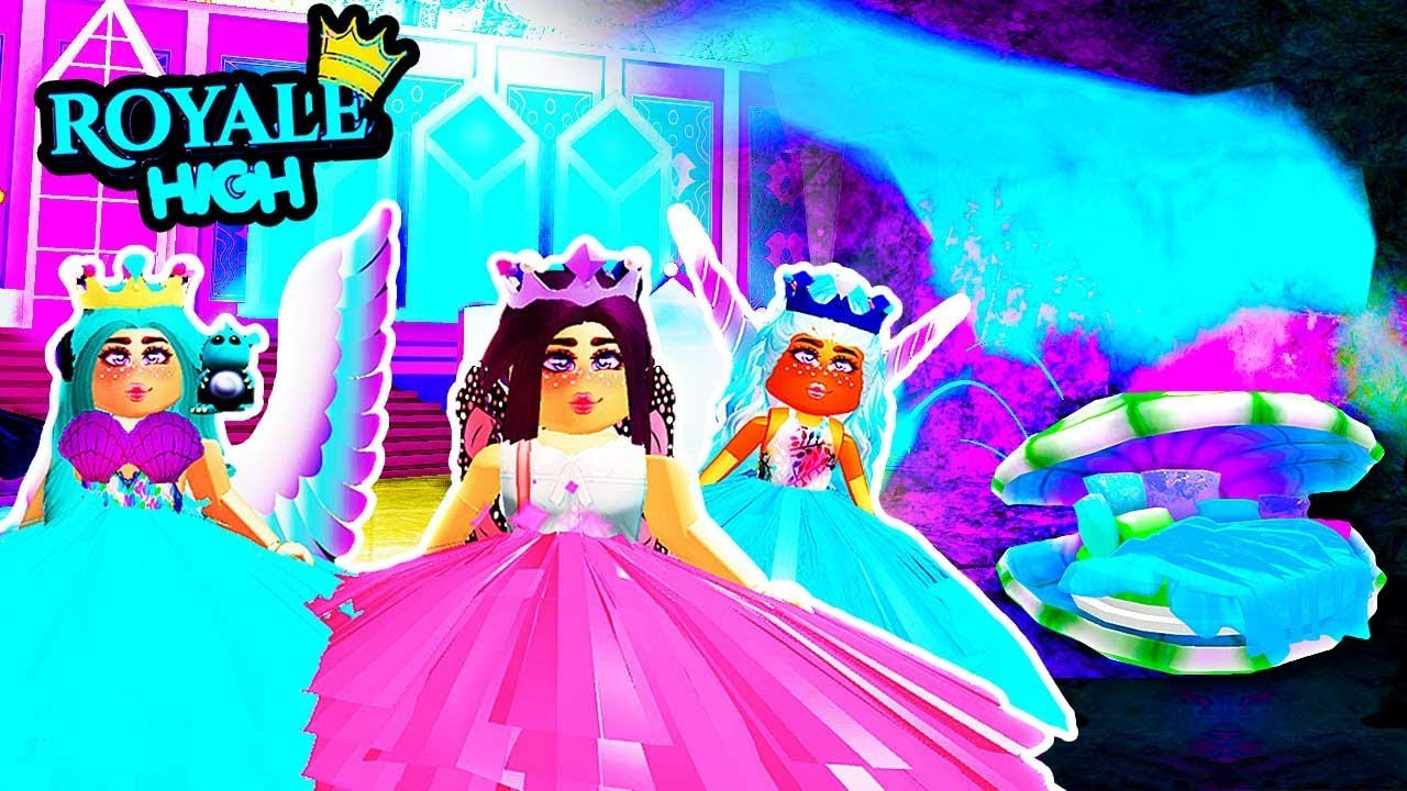 I FOUND MERMAID SECRET DORMS in Royale High! NEW CASTLE UPDATE! Royal High  School | Roblox Roleplay