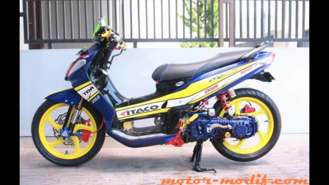 Download 78 Modifikasi Yamaha Nouvo Terunik Kempoul Motor