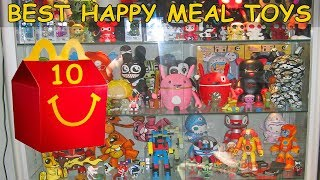 Top 10 Best Happy Meal Toys Ever