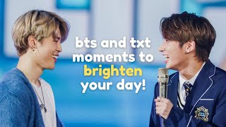 [BTXT] bts and txt moments to brighten your day!