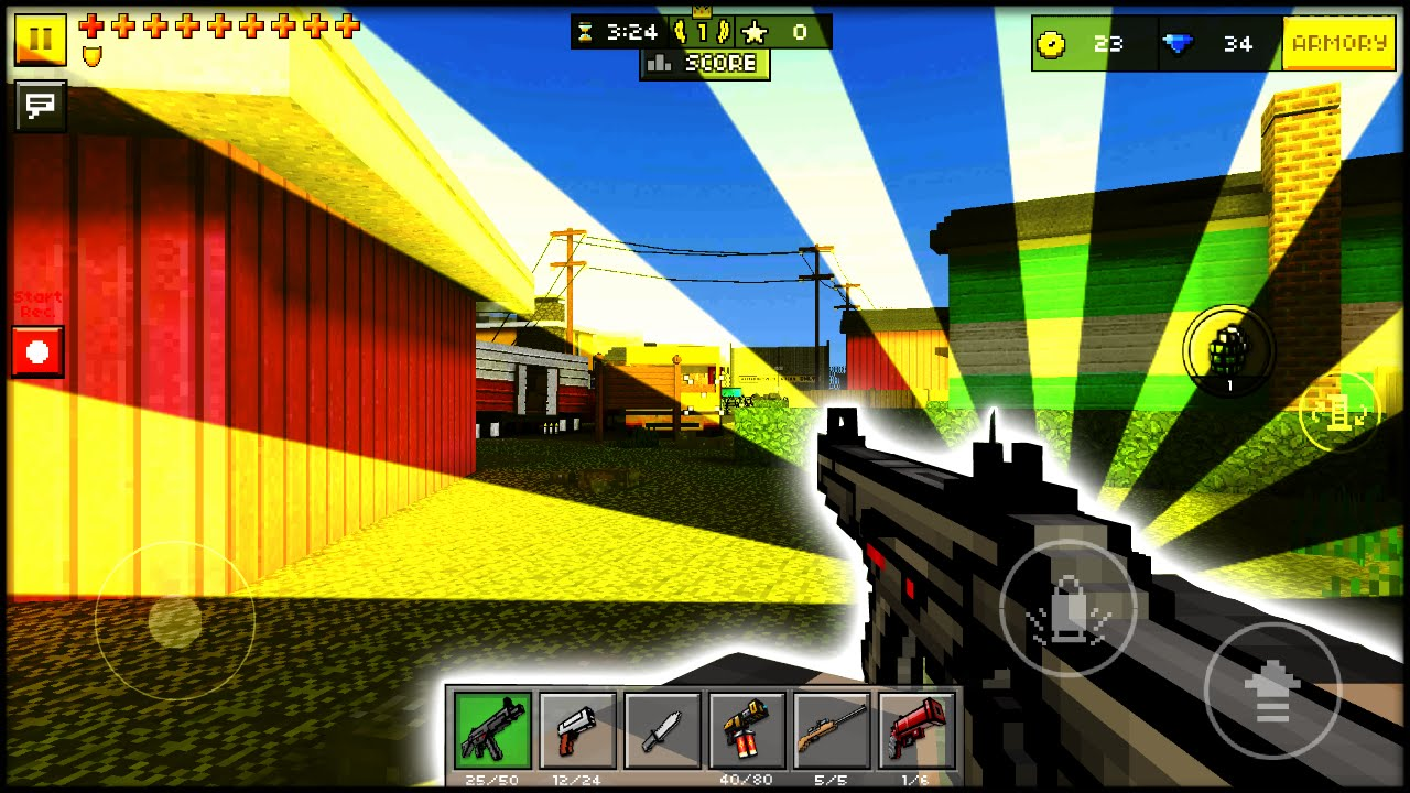 pixel gun 3d minecraft shooting games