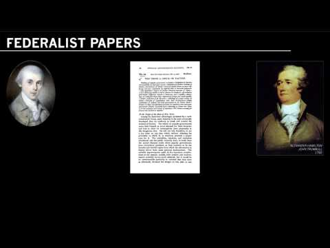 James Madison and the Federalist Papers