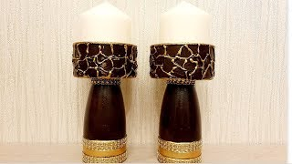 Diy - Candle Holder/ Home decor/Best out of waste