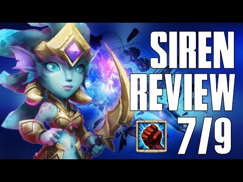 Castle Clash Siren Gameplay And Review!