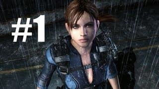 Resident Evil Revelations Gameplay Walkthrough 1 - Jill Valentine - Episode 1: Into the Depths