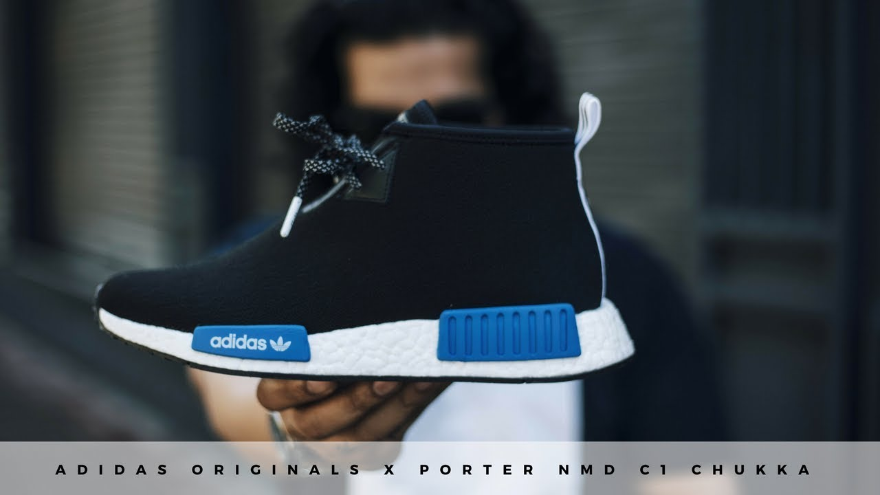 6cedcd4c7 adidas Originals X Porter NMD C1 Chukka - Review and On Feet - YouTube