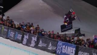 X Games Aspen 2017: Scotty James Halfpipe Winning Run スコッティジェームス 検索動画 12