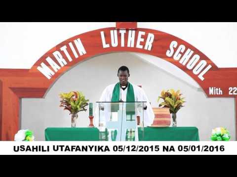 MARTIN LUTHER SCHOOL TANGAZO