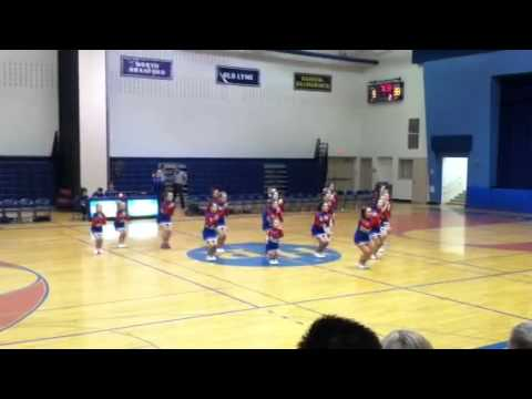 Nathan Hale Ray Middle School Cheerleaders