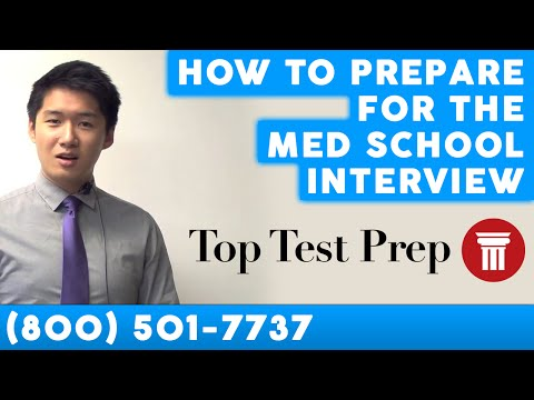 Ways to Prepare for the Medical School Interview - TopTestPrep