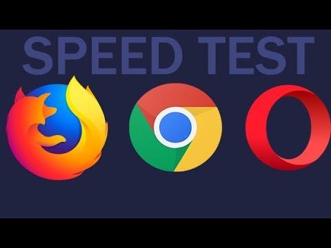 Firefox 57 Quantum Vs Google Chrome Vs Opera | Speed Test