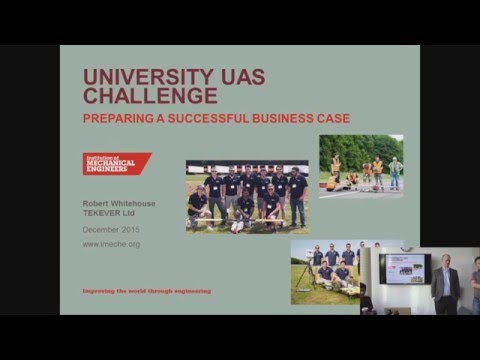 Rob Whitehouse's lecture on UAV business models