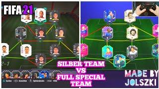FIFA 21   Ich spiele mit einem SILBER TEAM gegen ein FULL SPECIAL Team - Experiment Deutsch