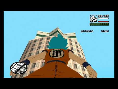 GTA San Andreas Dragon Ball Z Super Mod How To Install EASY With GAMEPLAY