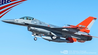 「QF-16」米空軍が空中標的任務に第4世代のF-16戦闘機を改造した無人標的機を導入