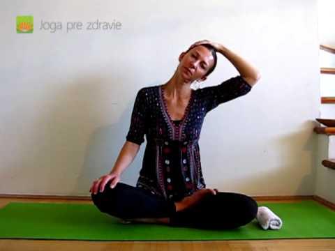 Cviky na krčnú chrbticu - Video: Joga pre zdravie