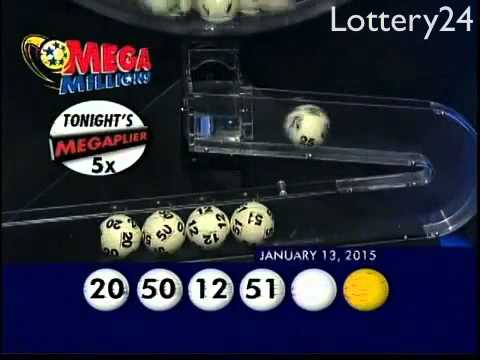 2015 01 13 Mega Millions Numbers and draw results