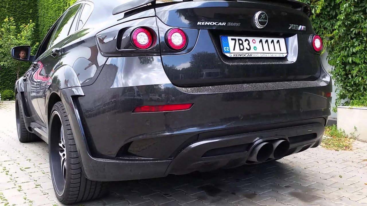 Bmw X6 M Hamann Exhaust Rev Loud Sound Youtube