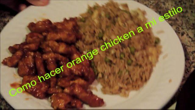 Como hacer orange chicken a mi estilo youtube como hacer orange chicken a mi estilo forumfinder Image collections