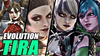Evolution of Tira from SoulCalibur (2005-2018)