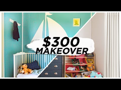 Tight Space, Tighter Budget Room Makeover!