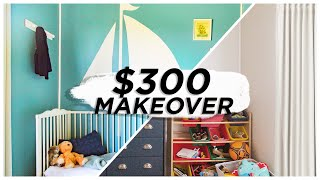 tight space tighter budget room makeover!