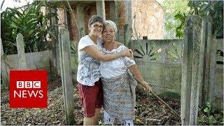 Brazilian Christians rebuild 'Satan's' temple - BBC News