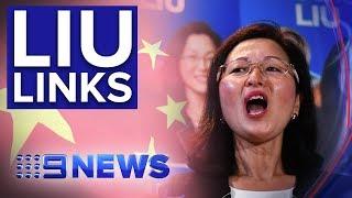 Liberal MP Gladys Liu under pressure over China links | Nine News Australia