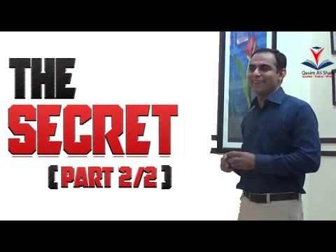 The Secret  – Book Review Urdu/Hindi -By Qasim Ali Shah | Part – 2/2